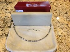Salvatore Ferragamo New Bone Clutch Handbag Purse 21-4384