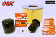 SUIT LANDCRUISER PRADO VZJ95R V6 3.4L 5VE-FE OIL AIR FUEL FILTER KIT+SPARK PLUGS