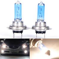 Charm White H7 100W LED Halogen Car Driving Headlight Fog Light Bulbs 12V Z0HWC