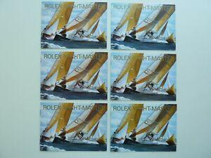Rolex Yacht-Master Booklet Konvolut 6x USA