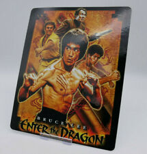 ENTER THE DRAGON - Bluray Steelbook Magnet Cover / Postcard (NOT LENTICULAR)