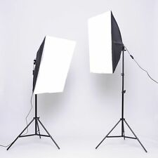 1350W Photo Studio Video Softbox Continuous Lighting Soft Box Light Stand Kit US