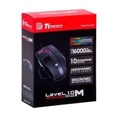 THERMALTAKE LEVEL 10M ADVANCED RGB Laser Gaming Mouse MO-LMA-WDLOBK-01 F45