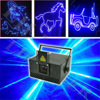 2000mw Blue American ILDA+SD card DJ Club Laser Party stage light 2W Beam Show