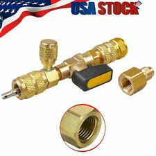 AC Schrader HVAC Tool Valve Core Remover Dual Size 1/4