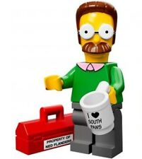 The Simpsons Lego collectible minifig Ned Flanders - suit city / house sets