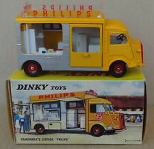 [original] French Dinky Toys - 587 Citroen Camionette Philips carrosserie currus