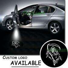 GRIM REAPERS SKULL LOGO LED car door light ghost shadow 3D projector decorative