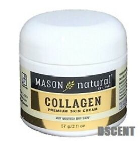 MASON NATURAL 100% PURE COLLAGEN BEAUTY CREAM 2 OZ