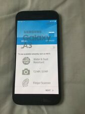 SAMSUNG Galaxy A3 2017 Nero Telefono Cellulare 16GB Sbloccato SIM Gratis Prezzo Consigliato £ 279.95