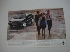 advertising Pubblicità 1985 LANCIA DELTA HF TURBO