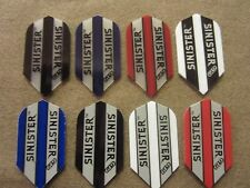 5 Pack Sinister Slim Dart Flights Choose Your Color w/ FREE Shipping