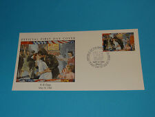 WWII FDC W95-2 Victory Europe Germany Surrender US Times Square New York