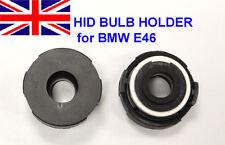 2 BMW E46 HID XENON LIGHT BULB HOLDER ADAPTOR 320 330i