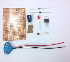 LM7805 5-Volts, Voltage Regulator Circuit Kit..