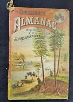1888 Quack Medicine Household Almanac Henry Johnson & Lord Burlington Montreal