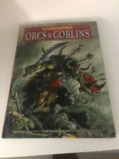 Warhammer 8th Edition Orcs & Goblins Army Book Codex Hard Cover Rulebook OOP