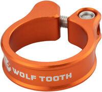Wolf Tooth Seatpost Clamp 36.4mm Orange Bike Seatpost Collar