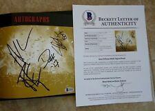 Axl Slash Duff Guns & Roses Signed Autographed VIP Book Set BAS Certified 14747