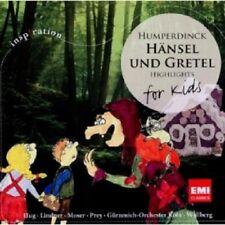 WALLBERG/MOSER/PREY - HÄNSEL UND GRETEL-FOR KIDS HUMPERDINCK  CD 19 TRACKS NEU