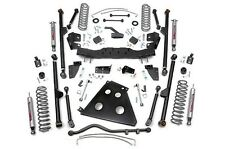 "Jeep Wrangler JK 4"" Long Arm Suspension Lift Kit w/ Shocks 2007-2011 4-Door"