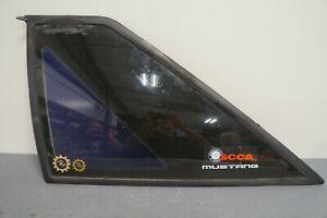 1987-1993 FORD MUSTANG OEM HATCHBACK LH LEFT HAND DRIVER SIDE QUARTER GLASS