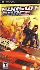 Pursuit Force (Sony PSP, 2006) - UMD DISC ONLY
