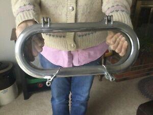 Vintage Porthole/Portlight With Backing Plate
