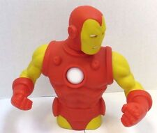 "MARVEL IRON MAN RED BANK BUST MADE BY MONOGRAM STOCK #67979 VINYL RESIN 8"" WH"