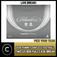 2018 PANINI FLAWLESS fútbol 2 Caja (completo Funda) Break - #F103 - equipo de Pick