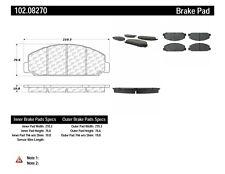 Disc Brake Pad Set-C-TEK Metallic Brake Pads Front Centric 102.08270