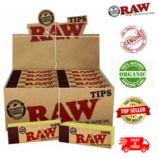 More details for raw rolling paper smoking chlorine free genuine roach roaches book filter tips