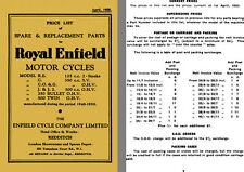 Royal Enfield - Price List of Spare & Replacement Parts for Royal Enfield Motor