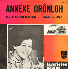 """ANNEKE GRÖNLOH - Rozen Hebben Doornen (1963 FAVORIETEN EXPRES VINYL SINGLE 7"""")"""
