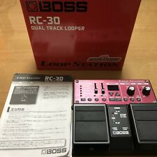 Boss RC-30 Dual Track Looper Guitar Effect Pedal - 2lbs. 2020