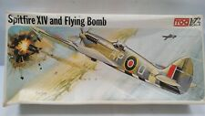 Vintage FROG 1:72 Spitfire  XIV And Flying Bomb Model Kit Military Aitcraft