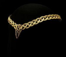 Gold Celtic Knot Mariage Bandeau Cercle
