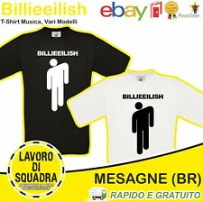 T-SHIRT - BILLIE EILISH - Bad Guy Musica MUSICA TEEN POP MUSIC NEW Idea Regalo
