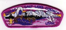 Great Salt Lake Council 1993 SA-20 Purple bdr Winter Very Rare Mint Condition