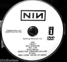 NINE INCH NAILS DEEP Promotional Record Company Music Video DVD Single NOT A CD