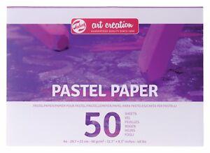 Talens Art Creation Pastel Paper Pad / Block 50 Sheets A4 or A3