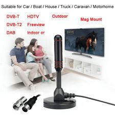 Hot Indoor Gain 30dBi Digital DVB-T/FM Freeview Aerial Antenna PC for TV HDTV E#