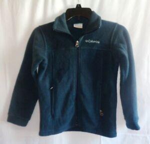 Columbia Boys Navy Fleece Jacket, Size: 8 (Small)