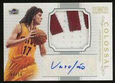 2012-13 National Treasures Colossal Anderson Varejao Jumbo GU Patch AUTO 4/10