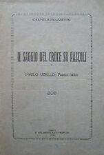 LETTERATURA GIOVANNI PASCOLI SAGGIO DI BENEDETTO CROCE