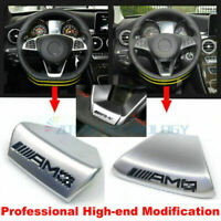 Auto Accessories Steering Wheel AMG Emblem For Mercedes Benz E/C Class 16-18