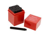 """ABN Metal 1/8"""" Inch Stamping 36-Piece Tool Kit – Embossing & Engraving Stamp Set"""