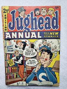 Jughead Annual #2 (1954, Archie) [GD/VG 3.0]
