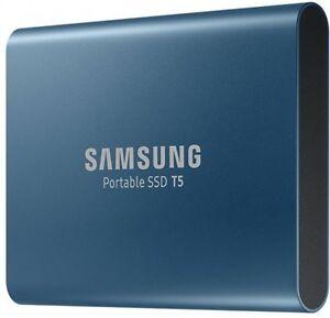 NEW Samsung Portable SSD T5 500GB External USB 3.1 MU-PA500B Solid State Drive