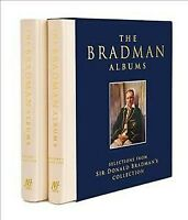 Bradman Albums, Hardcover by Bradman, Sir Donald, Brand New, Free shipping